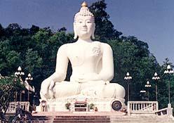 Buddha Statue at Wat Thaton, Ban Thaton, Chiang Mai Province