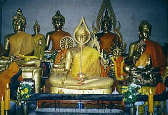 Buddha Images, Wat Phrathat Chom Kitti, Chiang Saen, Chiang Rai (18.6 K)